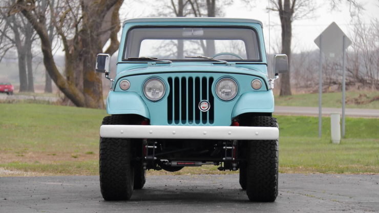 Jeepster Commando Grille