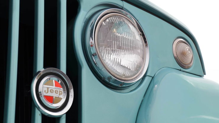 Jeepster Commando Headlight