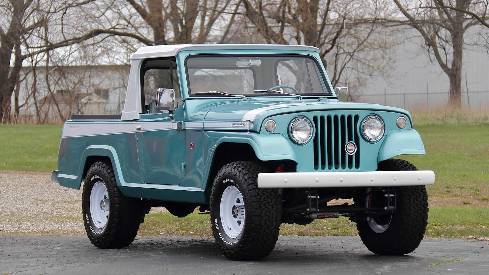 The Jeepster Commando - A 1960s 4x4 Icon Built To Challenge The Bronco + Scout