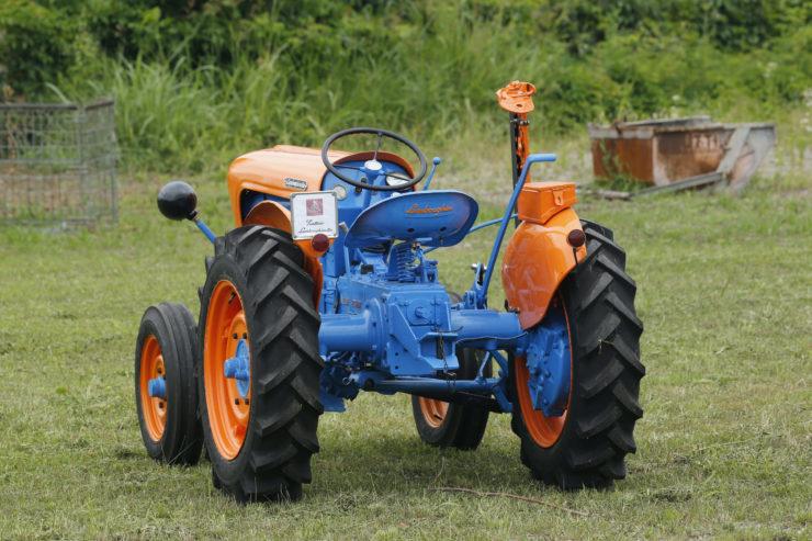 Lamborghini 2241R Tractor Back