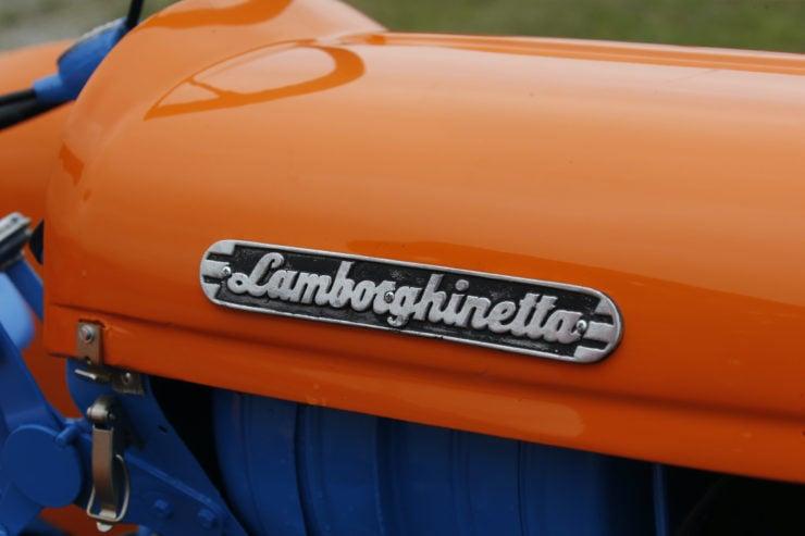 Lamborghini 2241R Tractor Badge