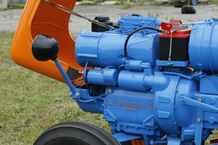 Lamborghini 2241R Tractor Engine