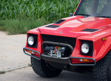 Lamborghini LM002 Headlights