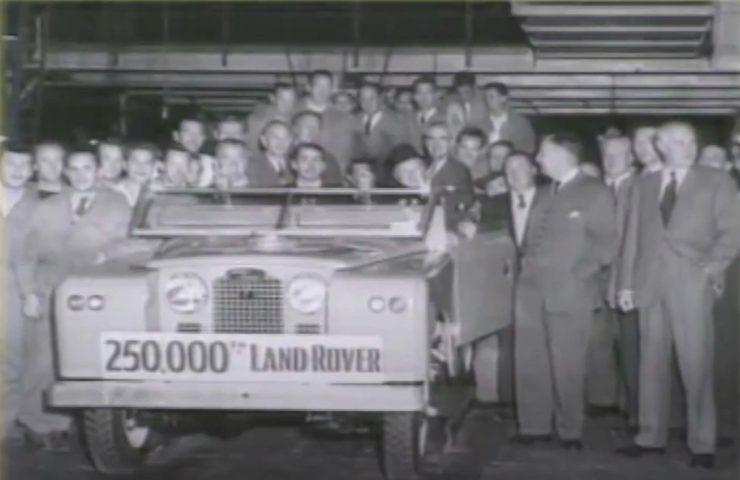 Land Rover 250,000