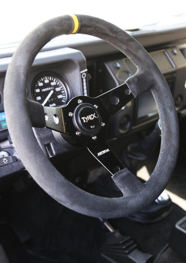 Land Rover Defender 110 V8 Steering Wheel