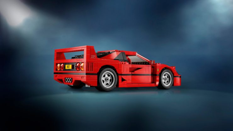 Lego Creator Expert Ferrari F40 Construction Set Back
