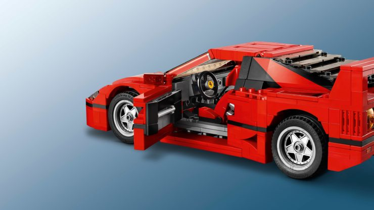 Lego Creator Expert Ferrari F40 Construction Set Door