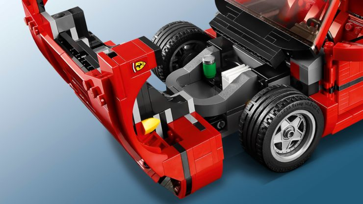 Lego Creator Expert Ferrari F40 Construction Set Hatch