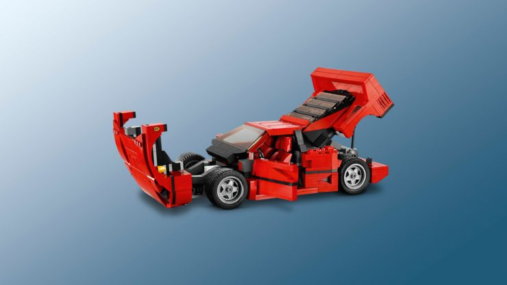 Lego Creator Expert Ferrari F40 Construction Set Open Hatches