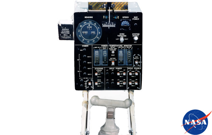 Lunar Roving Vehicle Control Panel