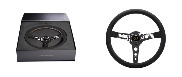 MOMO x Hot Wheels Limited Edition Steering Wheel Collage