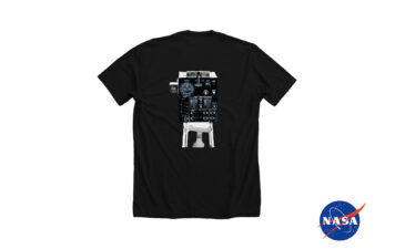 Moon Buggy Control Panel T-Shirt Silodrome