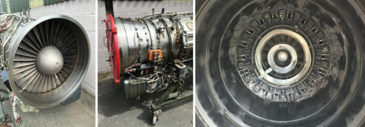 Panavia Tornado Rolls Royce RB199 Jet Engine Collage