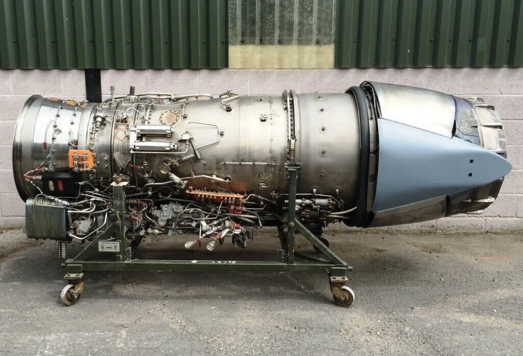 Panavia Tornado Rolls Royce RB199 Jet Engine