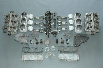 Porsche 911 RS Type 911-83 Engine