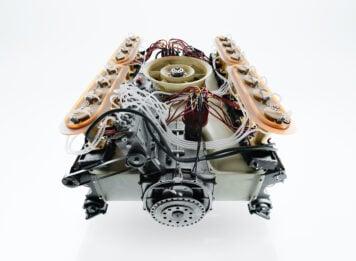 Porsche 917 Flat-16 Engine Prototype Back