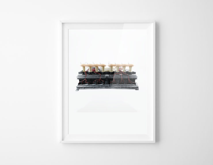 Porsche 917 Flat-16 Engine Prototype Framed Print 3