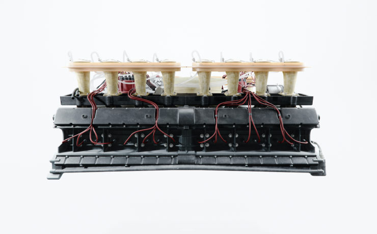 Porsche 917 Flat-16 Engine Prototype Side