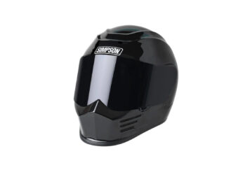 Simpson Speed Bandit Motorcycle Helmet Black