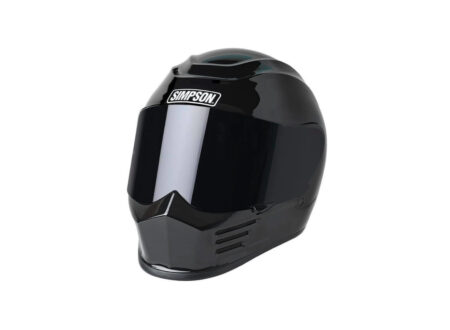 Simpson Speed Bandit Motorcycle Helmet Black