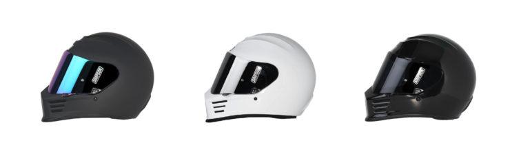 Simpson Speed Bandit Motorcycle Helmet Collage