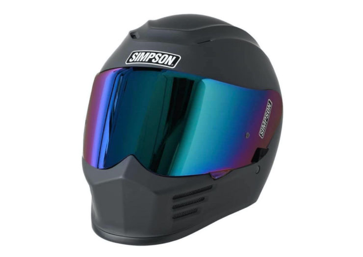 Simpson Speed Bandit Motorcycle Helmet Matte Black
