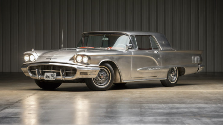Stainless Steel 1960 Ford Thunderbird