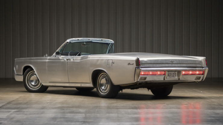 Stainless Steel 1967 Lincoln Continental 1