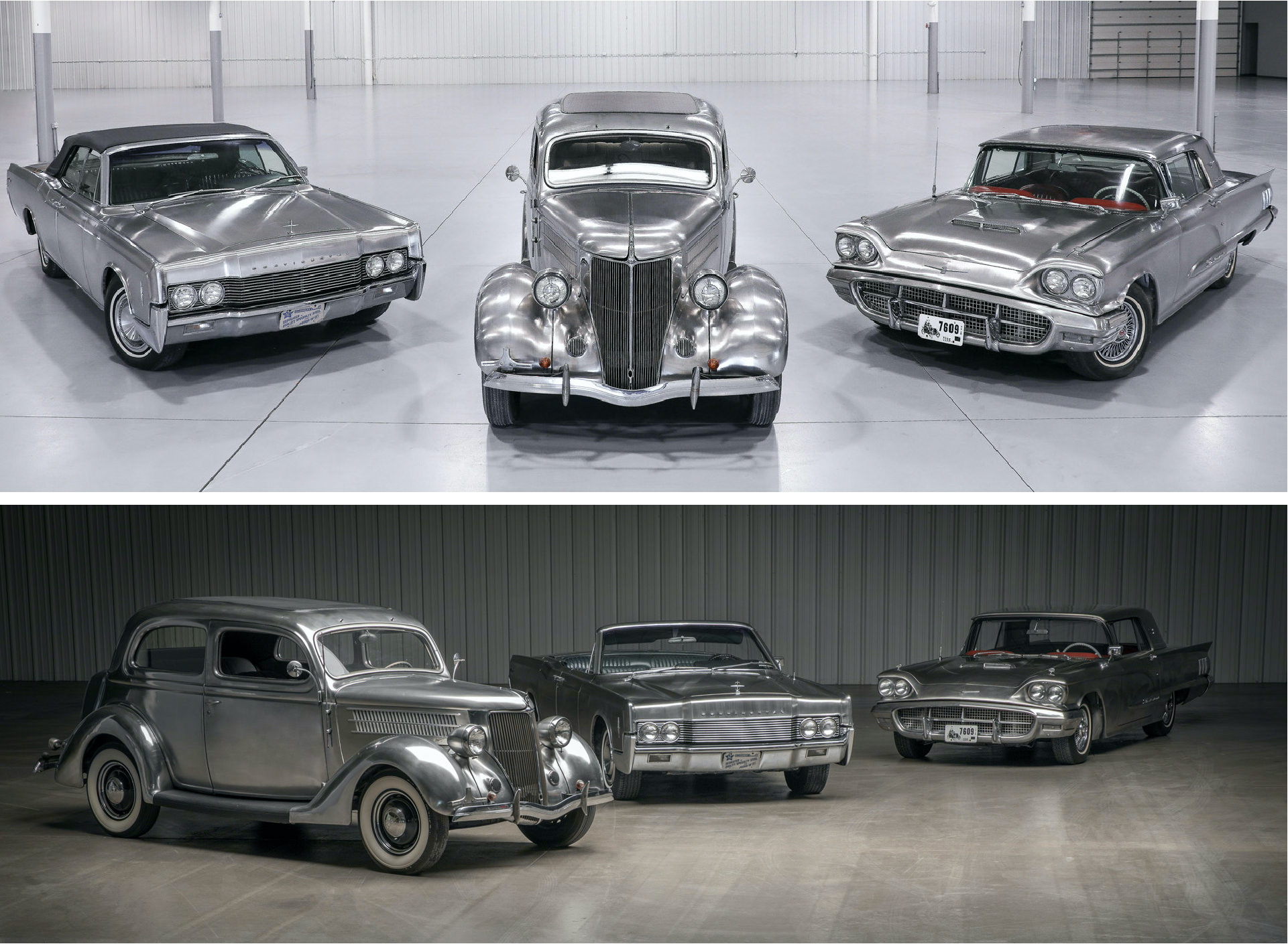 Stainless Steel Ford Cars