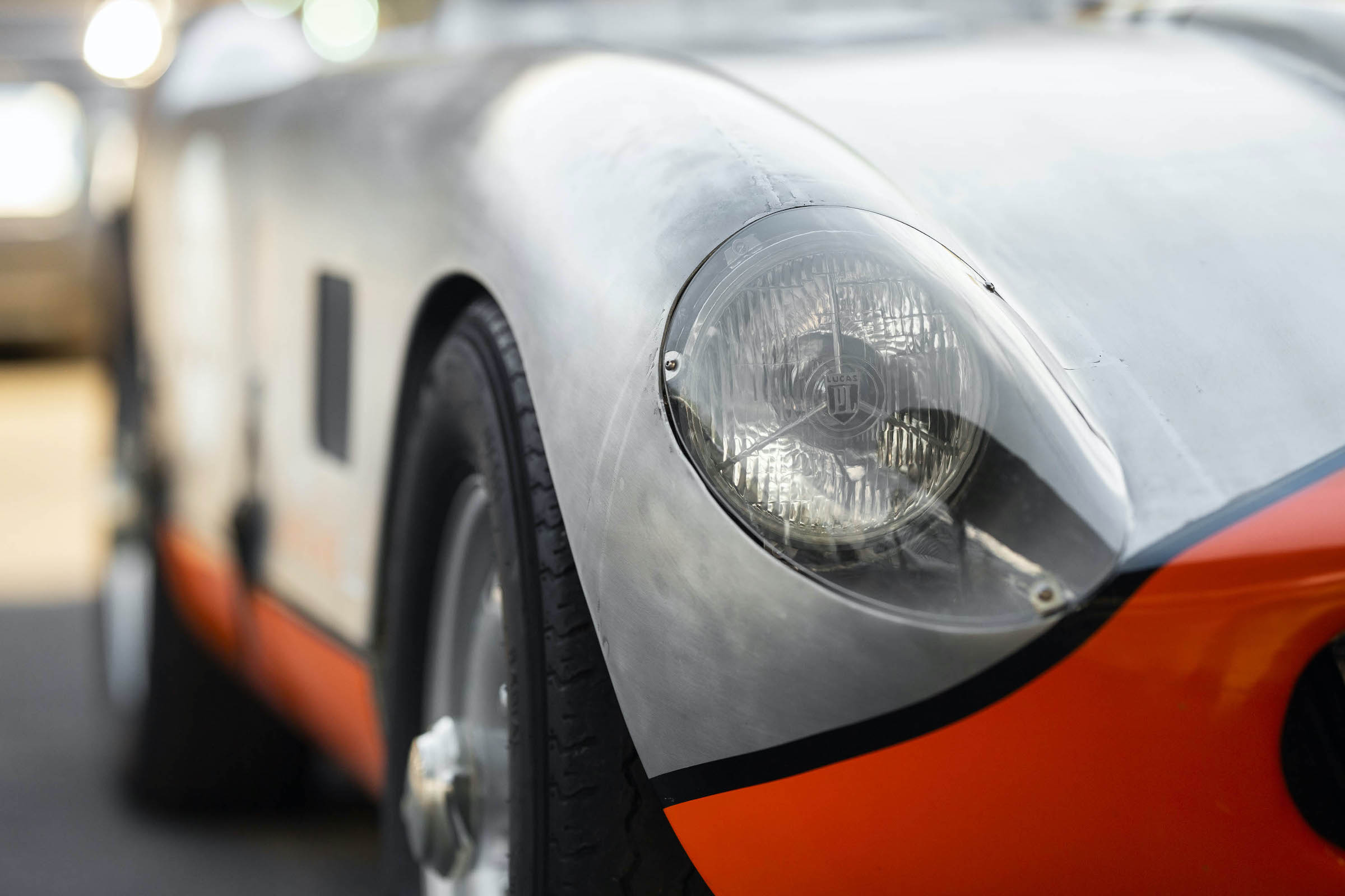 Tojeiro California Spyder Headlights