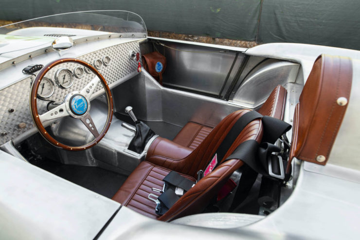 Tojeiro California Spyder Interior