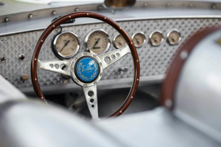 Tojeiro California Spyder Steering Wheel