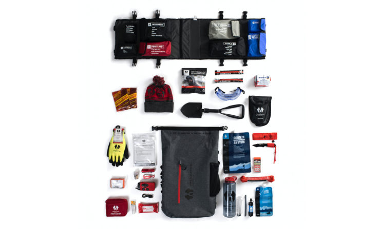 Uncharted Supply Co. The Seventy2 Pro Survival System Contents Inside