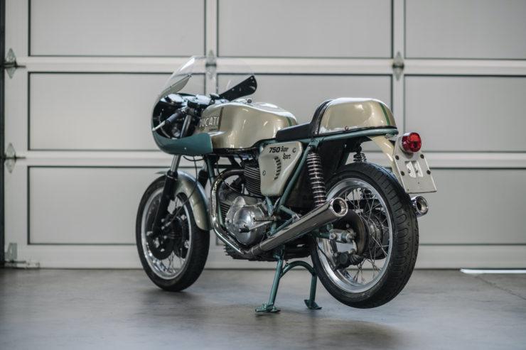 1974 Ducati 750 Super Sport Back