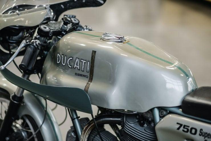 1974 Ducati 750 Super Sport Fuel Tank 2