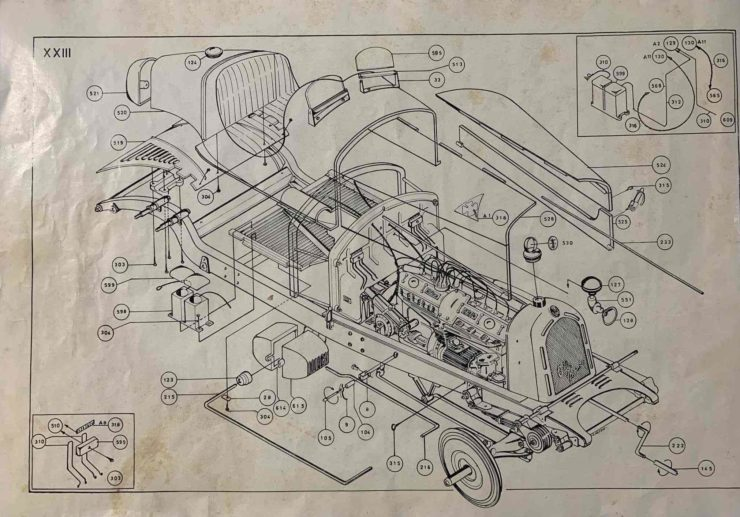 Alfa Romeo 8C 2300 Monza Pocher Model 6