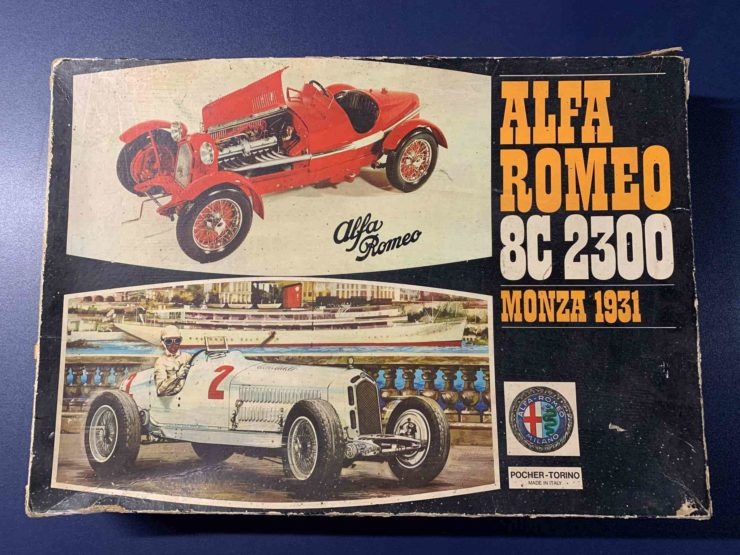 Alfa Romeo 8C 2300 Monza Pocher Model Box