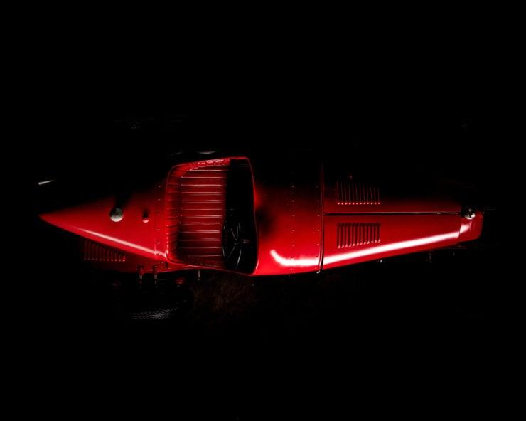 Alfa Romeo 8C 2300 Monza Pocher Model Overhead
