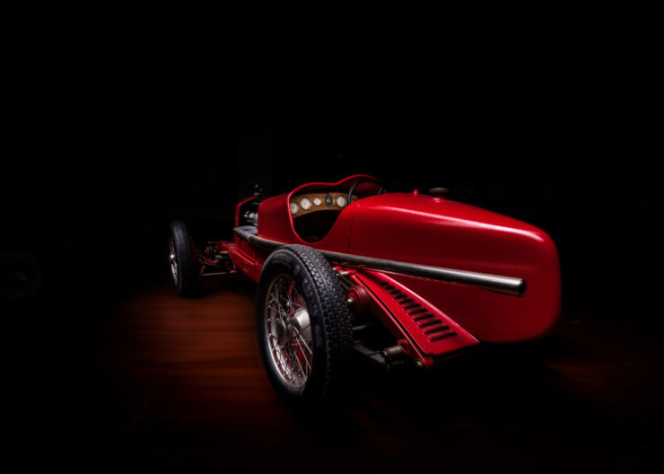 Alfa Romeo 8C 2300 Monza Pocher Model Rear 2