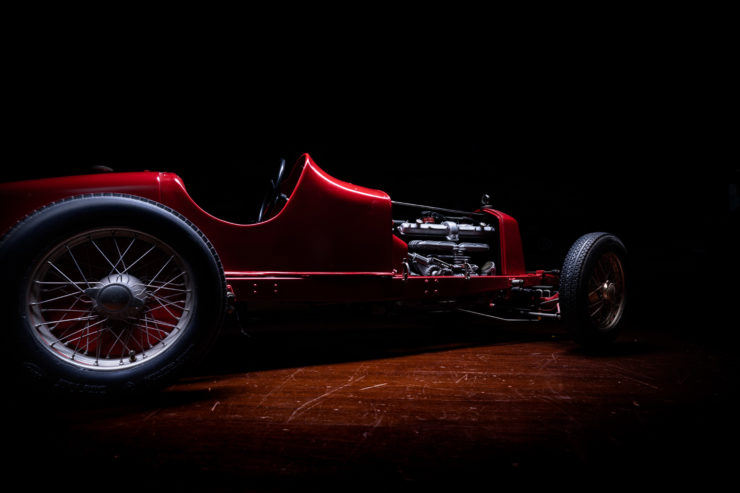 Alfa Romeo 8C 2300 Monza Pocher Model Side