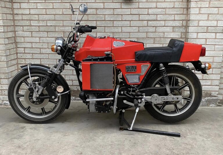 The Austel Lotec MkII – A Motorcycle With A 998cc Mini Engine