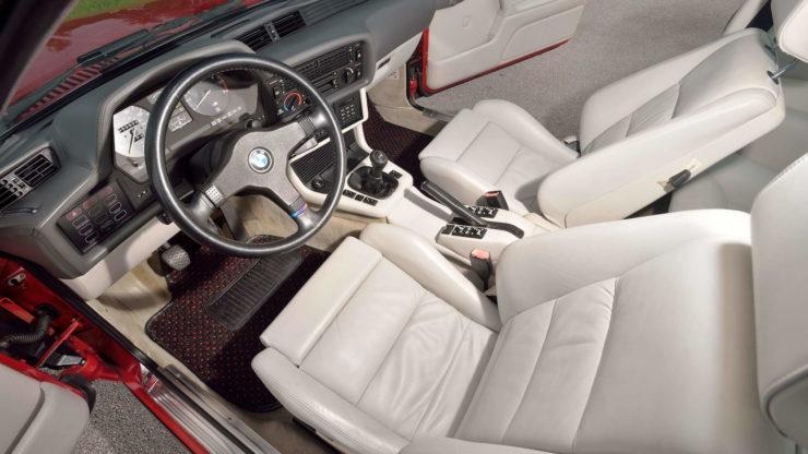 BMW M6 Seats