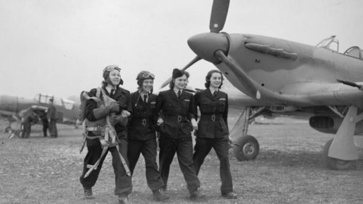 Female ATA Air Transport Auxiliary Pilots