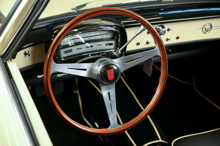 Fiat 1200 Wonderful Steering Wheel