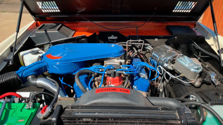Ford Bronco Stroppe Baja Edition Engine