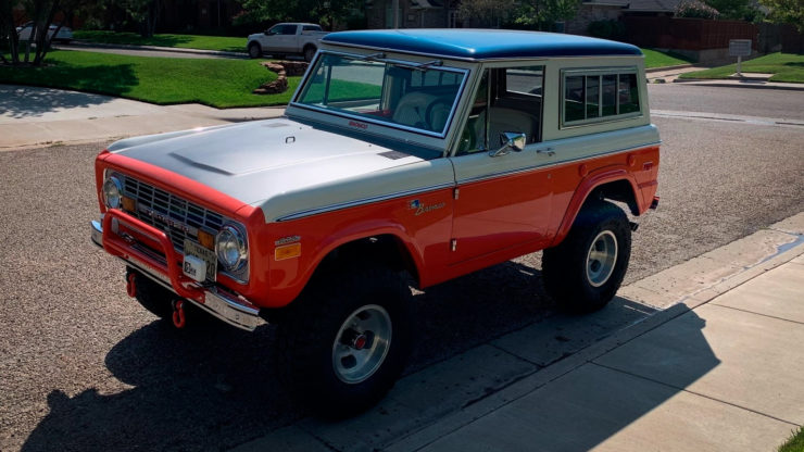 Ford Bronco Stroppe Baja Edition Front