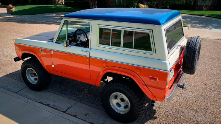 Ford Bronco Stroppe Baja Edition Rear