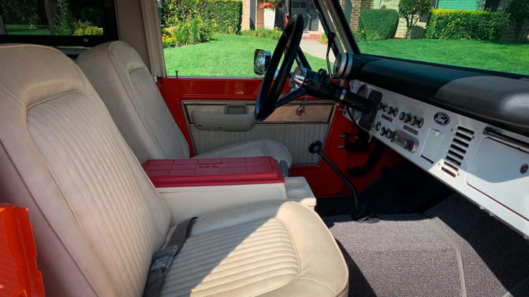 Ford Bronco Stroppe Baja Edition Seats