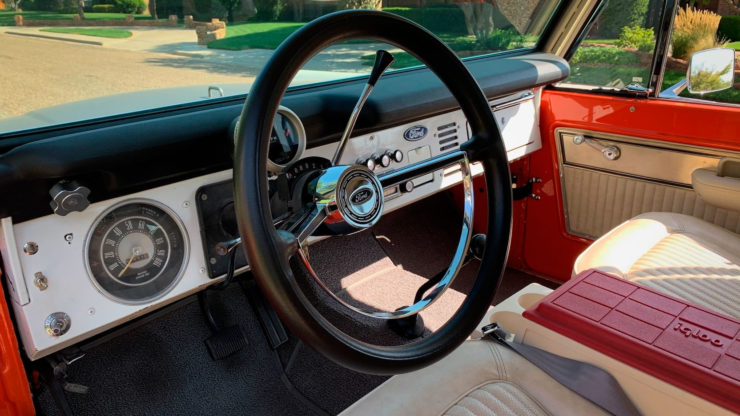 Ford Bronco Stroppe Baja Edition Steering Wheel