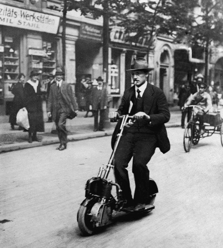 German Krupp Autoped